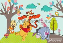 Fotobehang Winnie De Pooh Noordwand babykamer