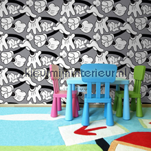 Mickey Handshake wallcovering Noordwand urban