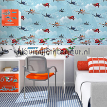 Planes Wallpaper wallcovering Noordwand urban