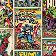 Marvel Action Heroes wallcovering Noordwand urban