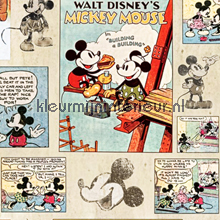 Mickey Vintage Episode Wallpaper wallcovering Noordwand urban