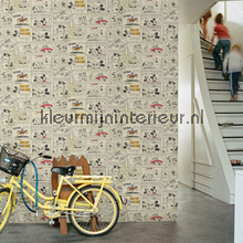Mickey and Minnies Night Out wallcovering Noordwand urban