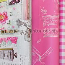 Nostalgie in roze knustelpakket 4 mtr tapet Kleurmijninterieur wallpaperkit