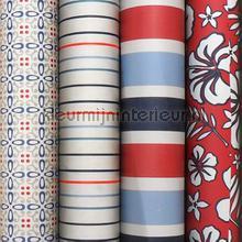 Rood wit blauw knutselpakket 20 mtr papier peint Kleurmijninterieur Tout-images