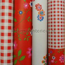 Patchwork rood knustelpakket 9 mtr papier peint Kleurmijninterieur Tout-images