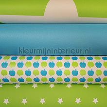 Fris en fruitig papier peint Kleurmijninterieur Knutselpakketten 0050