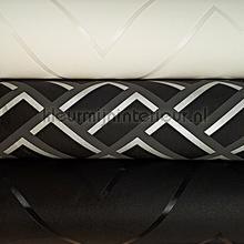 Zwart wit abstract knutselpakket wallcovering Kleurmijninterieur wallpaperkit
