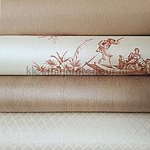 Roamtisch klassiek met toile wallcovering Kleurmijninterieur wallpaperkit