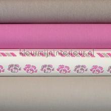 Pakket romantisch beige roze behang Kleurmijninterieur knutselpakket