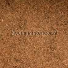 Fijne kurk bruin-donkerbruin tapet Kleurmijninterieur All-images