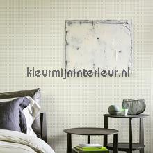Dots mosterd op creme behang Arte Le Corbusier 31003