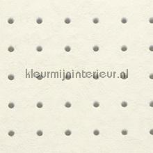 Dots grijs op creme behang Arte Le Corbusier 31001