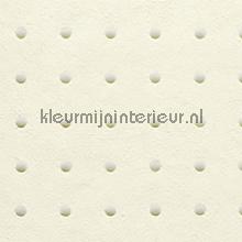Dots lichtgrijs op creme behang Arte Le Corbusier 31002