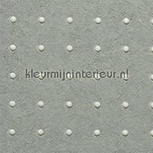 Dots lichtgrijs op grijs behang Arte Le Corbusier 31007