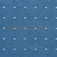 Dots licht blauw op blauw behang Arte Le Corbusier 31011