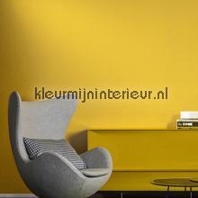 dots wit op helder warm geel behang Arte Le Corbusier 31022