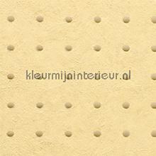 Dots beige op creme geel behang Arte Le Corbusier 31023