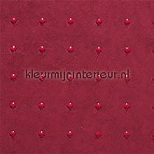 Dots rood op rood behang Arte Le Corbusier 31028