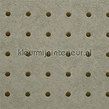 Dots bruin op bruinig grijs behang Arte Le Corbusier 31037