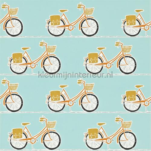 Cykel sulpher behang 111100 Interieurvoorbeelden behang Scion