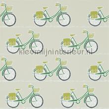 Cykel apple behang Scion Levande 111102