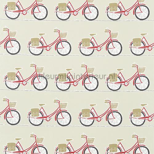 Cykel poppy gordijnstof curtains 120388 Cars - Transport Scion