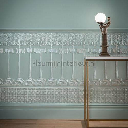 Art Nouveau dado panels