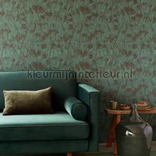 Takken silhouetten tapet Eijffinger Lino 379054