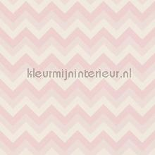 Krijtverf behang zigzag wallcovering Esta for Kids girls