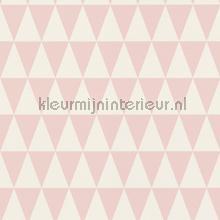 Grafische driehoeken behang Esta for Kids meisjes
