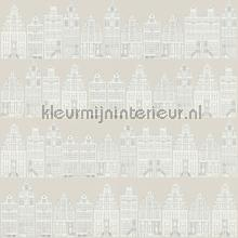 Amsterdamse grachtenhuisjes wallcovering Esta for Kids girls
