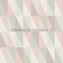 Grafische driehoeken wallcovering Esta for Kids girls