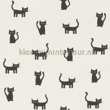 Katjes zwart wit wallcovering Esta for Kids girls