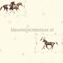 Paarden in het veld papel de parede AS Creation Little Stars 358372