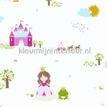 Kikker en prinses wallcovering AS Creation urban