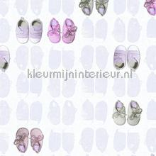 Eerste schoentjes papel de parede AS Creation Little Stars 358621