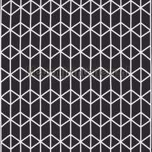 Nendo Black gordijnstof met applicatie curtains Scion teenager