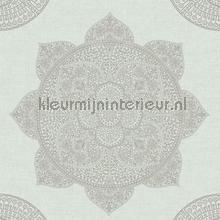 Mandala motief tapet Eijffinger Lounge 388782