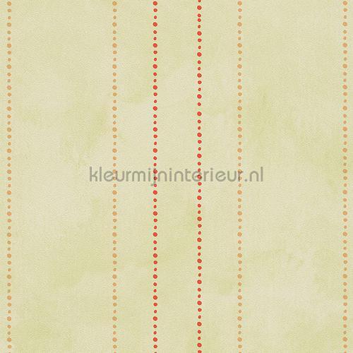 Pastel Groen Behang.Stippelstreepjes Pastel Groen 303111 Behang Collected As Creation