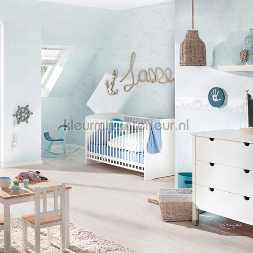 Walvisjes wit behangrand 303372 aanbieding behang AS Creation