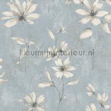 Lichte aquarel bloem papel de parede Rasch Lucera 608458