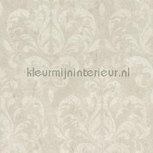Lichte aquarel arabesk behang Rasch Lucera 608519