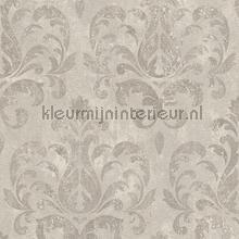Lichte aquarel arabesk behang Rasch Lucera 608526