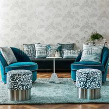 Lucero Nude-Champagne wallcovering Harlequin Wallpaper room set photo's