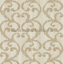 Baroc Champagne wallcovering Harlequin Vintage- Old wallpaper