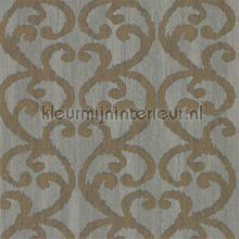 Baroc Pewter wallcovering Harlequin Vintage- Old wallpaper