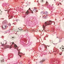 Flower ocean pink behang Rasch Lucy in the Sky 803556