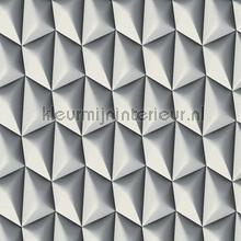 3d piramid gris grey tapeten AS Creation Mac Stopa 327082