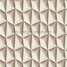 3d piramid grid behang AS Creation retro