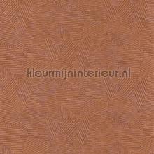 Soroa orange brulee papel de parede Casamance Malanga 74090874